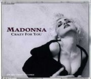 CRAZY FOR YOU (91) - UK PICTURE CD SINGLE (W0008CD)